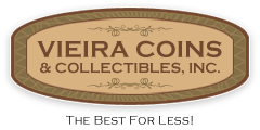 Vieira Coins & Collectibles, Inc. Logo